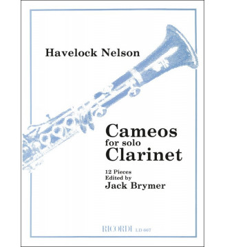 Cameos For Clarinet Cl & Pf