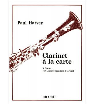 Clarinet a La Carte Cl & Pf