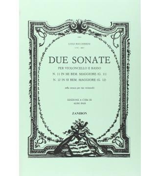 2 Sonate G.11 e 12