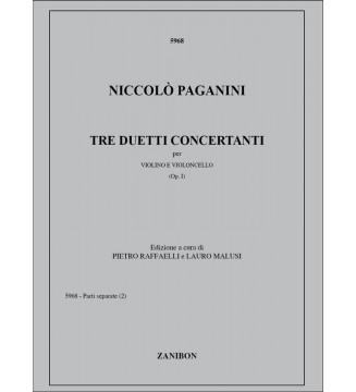 Tre Duetti Concertanti, Op. 1