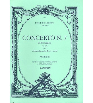 Concerto N. 7 In Re Magg....