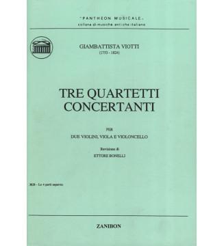 Tre Quartetti Concertanti