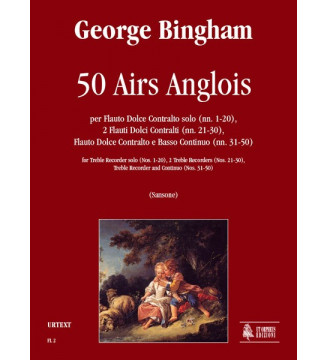 50 Airs Anglois Treble...