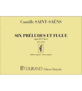 Prelude Et Fugue Op 99  Vol...