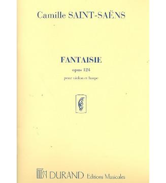Fantaisie Op 124 Violon/Harpe