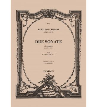 2 Sonate In Re Maggiore...