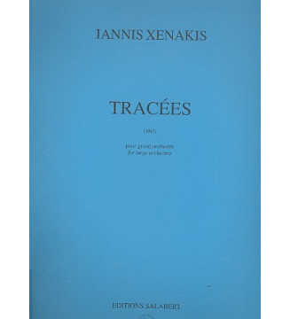 Tracees Orchestre Partition