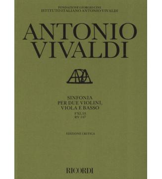 Sinfonie Per Archi e B.c.:...