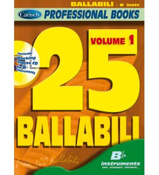 25 BALLABILI, volume 1 (Bb...