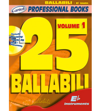 25 BALLABILI, volume 1 (Eb...