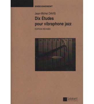 Dix Etudes Pour Vibraphone...