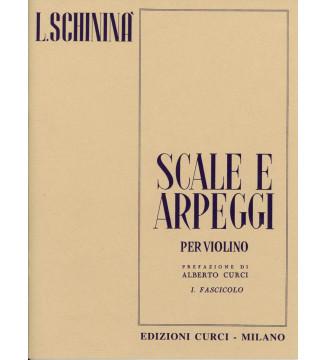 SCALE E ARPEGGI, fasciolo I
