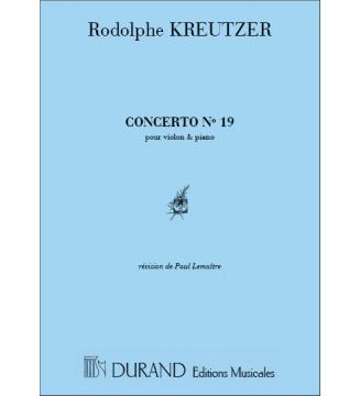 Concerto n 19 Vl/Piano
