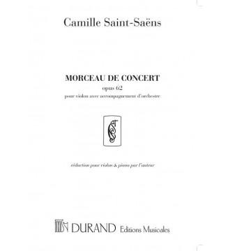 Morceau De Concert Vl/Piano