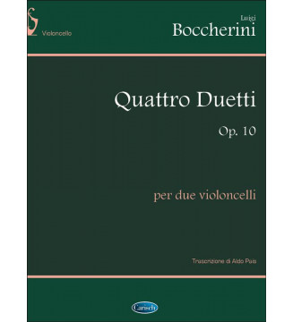 4 DUETTI Op.10, per 2...