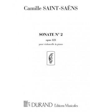 Sonate n 2 Op 123  Vlc/Piano