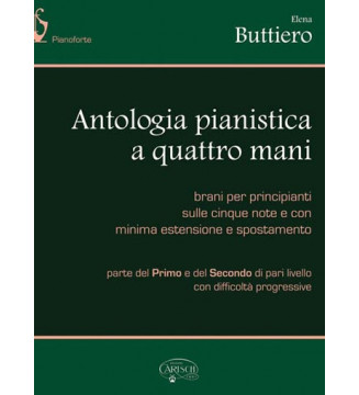 Piano Antologia A Quattro Mani