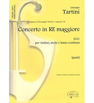 Tartini Volume 14: Concerto...