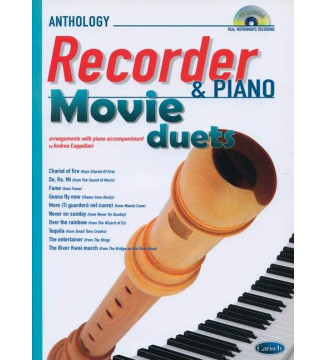 MOVIE DUETS FOR RECORDER &...