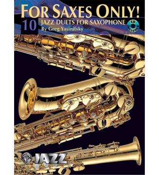 FOR SAXES ONLY!  10 JAZZ...