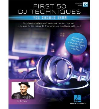 First 50 DJ tecniques you...