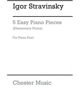 5 EASY PIECES FOR PIANO...
