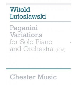 Paganini Variations For...