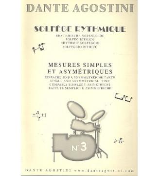 SOLFÈGE RYTHMIQUE, volume 3