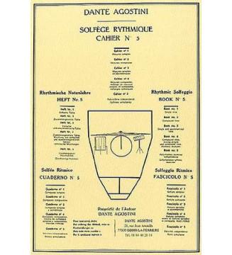 SOLFÈGE RYTHMIQUE, volume 5
