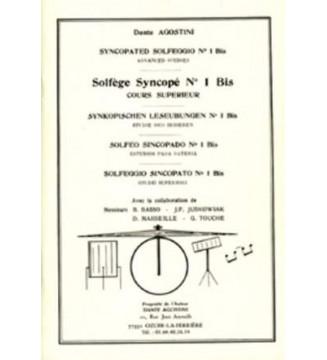 SOLFÈGE SYNCOPÉ, volume 1 bis