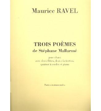 3 Poemes De Mallarme...