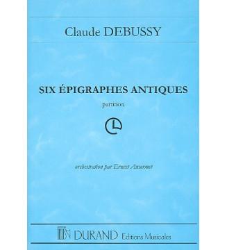 Six Epigraphes Antiques Poche