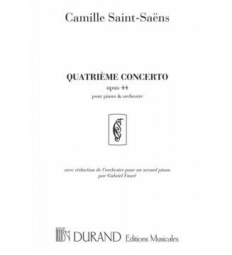 Concerto n 4 Op 44 Piano Et...