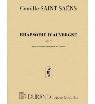 Rhapsodie D'Auvergne Op 73...
