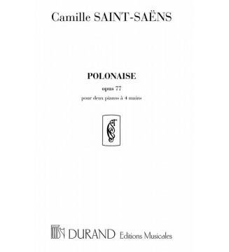 Polonaise Op 77  2 Pianos