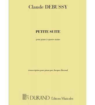 Petite Suite Piano  4 mani