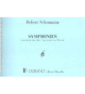 Symphonies trascr.piano 4 mani