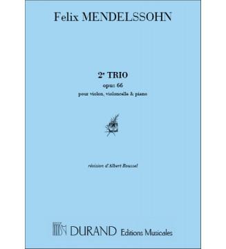 Trio n 2 Op 66 Vl/Vlc/Piano