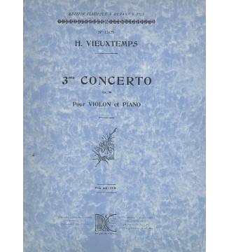 Concerto n 3 V/Piano