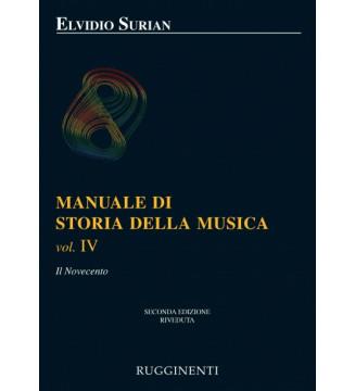 MANUALE STORIA DELLA MUSICA...