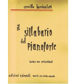 SILLABARIO DEL PIANO (il)