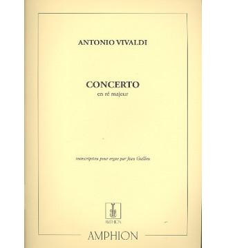 Concerto En Re Orgue...
