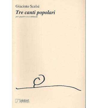 3 Canti Populari Choeur (VxMx)