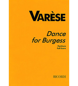 Dance For Burgess