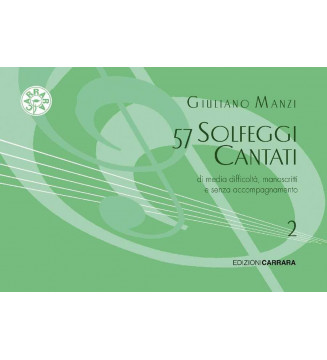 57 Solfeggi cantati....