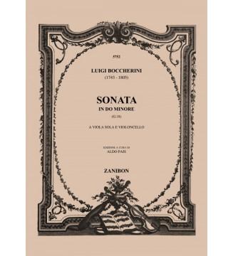 Sonata In Do Magg.