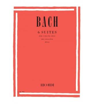 6 Suites Per Violino Solo...