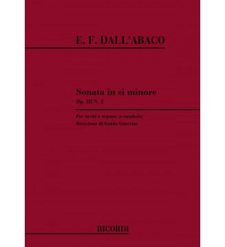 Sonata In Si Min. Op.iii N.3