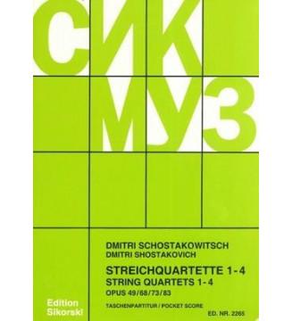 Quartetti Op. 49, 68, 73, 83