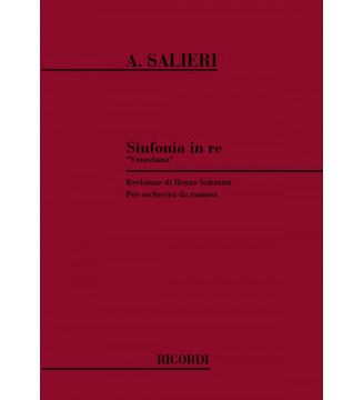 Sinfonia In Re 'Veneziana'